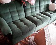 Sitzgarnitur Sofa und zwei Sessel