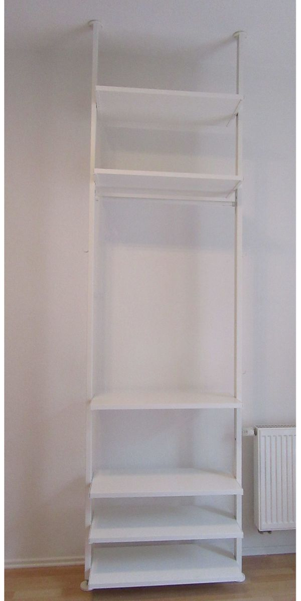 Ikea Elvarli Stolmen Regal Schrank System Weiß 92x36x222