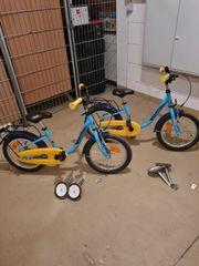 2 Kinderfahrräder Noxon 16 Zoll
