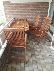 Gartentisch 4 Stühle