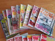 16 Zeitungen Schöner Wohnen etc