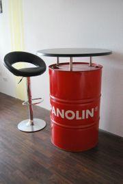 Stehtisch Panolin Ölfass mit Werzalitplatte
