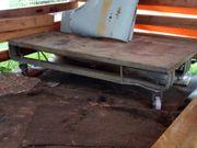 Transportwagen aus Alu mit 4Stk