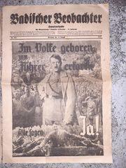 Biete hier antiq zeitung 1934-1940