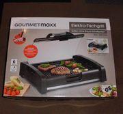 Elektro-Tischgrill Gourmetmaxx neuwertig günstig abzugeben