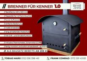 Flammkuchenofen Holzbackofen - BAUSATZ