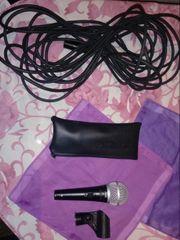 Microfon shure pg 58