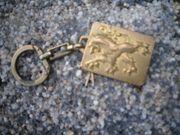 Schlüsselanhänger Peugeot Plakette