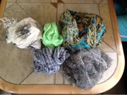 5x Halstücher bzw Schals
