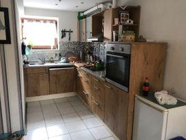 Einbauküche mit Backofen, Geschirrspüler , Spülmaschine