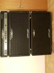 Bassverstärker - Bassboxen mit Topteil in