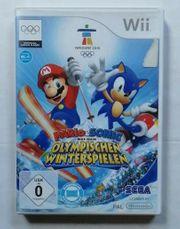 Wii Spiel Mario Sonic