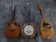 Mandoline - Banjo - 3 Stück inkl