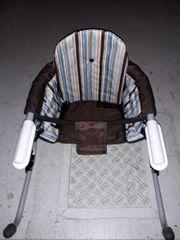 Tisch-Sitz Hochstuhl zum anklemmen