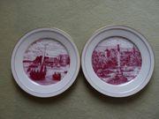 Wandteller Porzellanmanufaktur Höchst