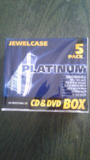 75 ovp CD-Hüllen DVD-Hüllen CD-Box