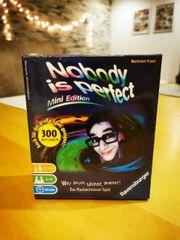 Nobody s perfect Spiel