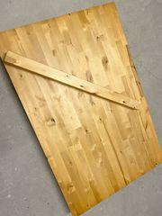 Massiver Esstisch Holztisch Tisch Massivholztisch