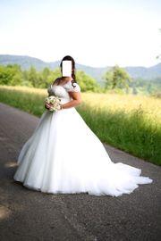 Brautkleid Gr 44 42-46 Prinzessinen