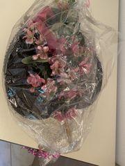 Deko Fächer mit Kunst Blumen