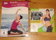 3 DVDs Pilates Fitness Rücken