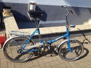 Klappbares Fahrrad 20 Zoll