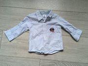 Schickes langärmeliges Hemd Gr 68