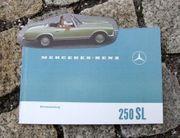 Betriebsanleitung Mercedes W113 250 SL