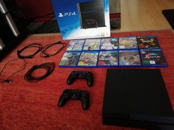 PS4 500Gb 2 Controller 10