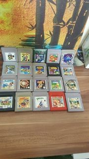 Gameboy mit Spiele
