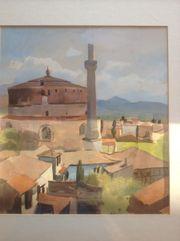 Gemälde Eugen Jussel Original Handsigniert