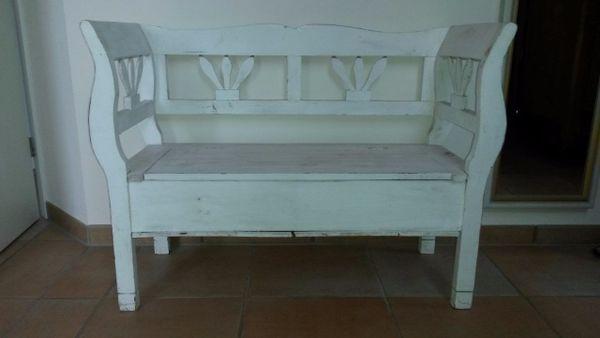 sitzbank schlafzimmer wei gebraucht kaufen nur 2 st bis 70 g nstiger. Black Bedroom Furniture Sets. Home Design Ideas