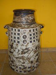 Grosse Bodenvase aus Keramik