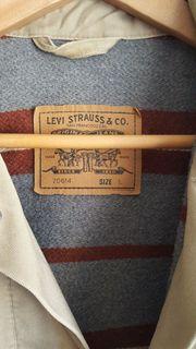 LEVIS Trucker Jeansjacke blanket lined-innen