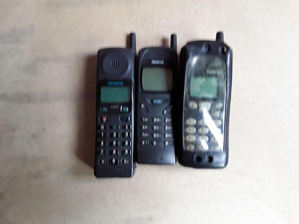 3 Handys für Sammler