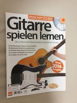 Gitarre spielen lernen, mit CD Rom