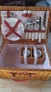 Picknickkorb - nur 1x genutzt