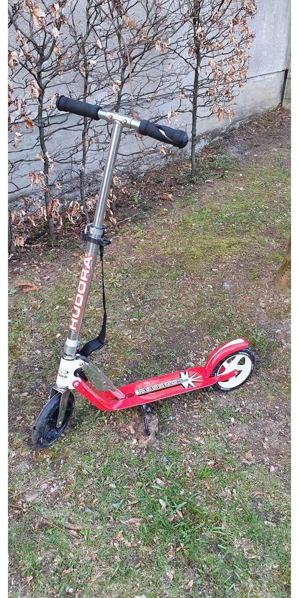 Hudora Roller Big Wheel rot