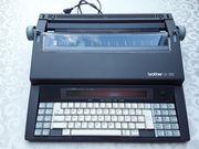 Programmierbare Schreibmaschine von Brother
