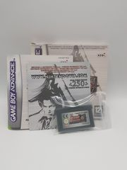 Gameboy Advance Dynasty Warriors Advance