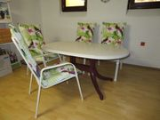 Terrassen- Gartensitzgruppe mit Tisch 6