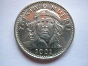 3 Peso Münze Kuba 2002