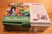 Hobbyfotografen-Digitalkamera Canon PowerShot A75 mit