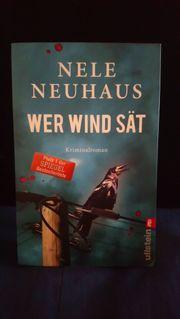 Nele Neuhaus Wer Wind sät
