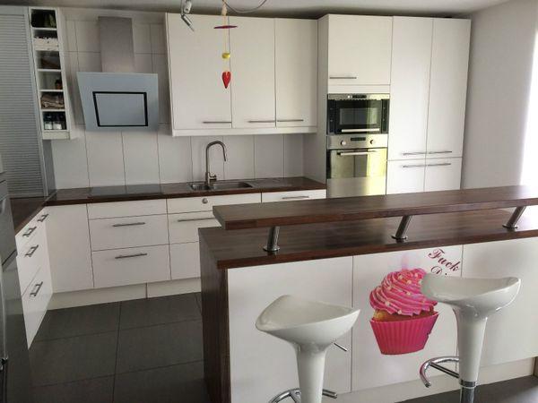 große IKEA Küche inkl. Geräte und großem Side-By-Side-Kühlschrank in ...