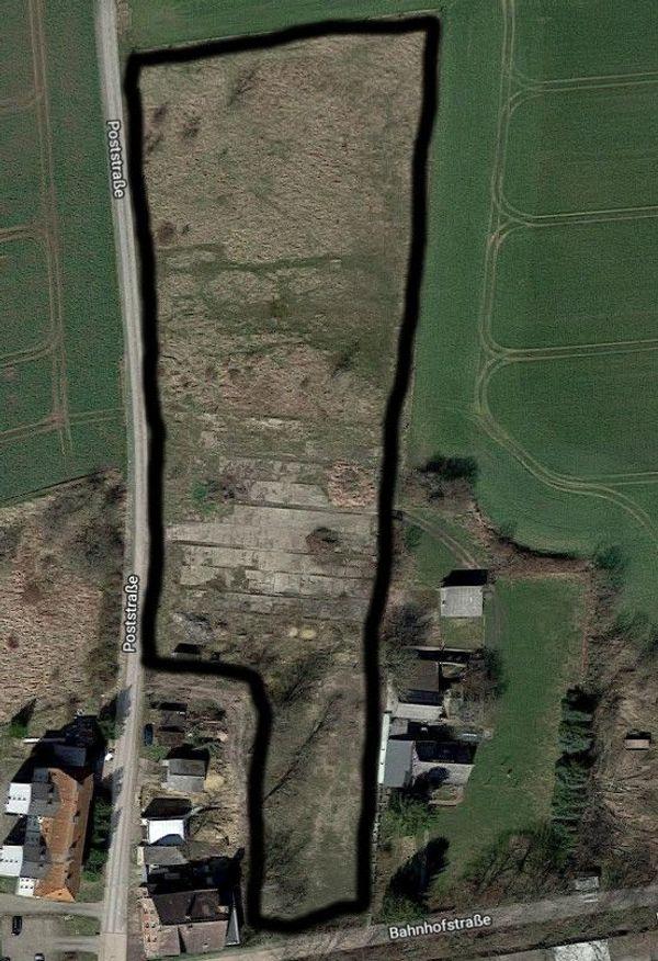 10055 qm Grundstück davon 1550