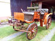 Jagdwagen Achenbach Zweispänner 1922 sehr