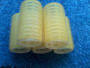 Lockenwickler - Haftlockenwickler - Haftwickler - 5 Stück - gelb