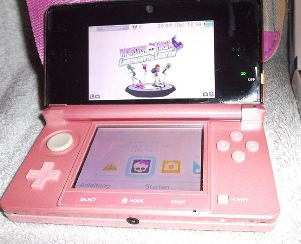 Nintendo 3DS Original Konsole Schwarz-OVP