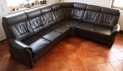Echtleder Marken Wohnlandschaft Couch in